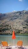 Lake Kourna Royalty Free Stock Photography