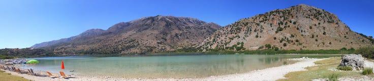 Lake Kourna Royalty Free Stock Image