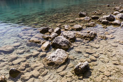 The Lake Kourna Crete. Royalty Free Stock Images