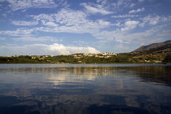 Lake Kournas Royalty Free Stock Photography