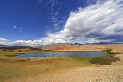 Lake Krasnogorsk in the Altai Republic Stock Photography