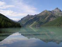 Lake Kucherla in the Altai Mountains Royalty Free Stock Photos