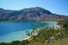 Lake Kurna view Stock Image