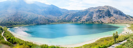 Lake Kurnas, Panoramic view Stock Image
