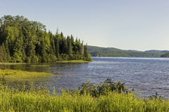 Lake in La Mauricie National Park in Quebec Stock Photo