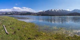 Lake laceno Royalty Free Stock Image