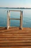Lake Ladder stock photo