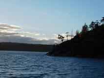 The Lake Ladoga. Royalty Free Stock Image