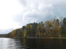 The Lake Ladoga. Royalty Free Stock Images