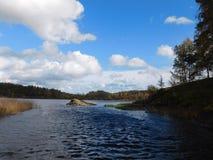 The Lake Ladoga. Royalty Free Stock Photos