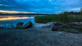 Lake Ladoga. In the Karelia Stock Image