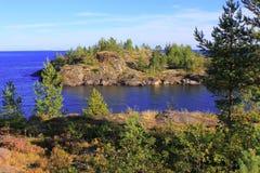 Lake Ladoga. Karelia. Russia Royalty Free Stock Photography