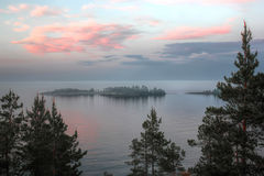 Lake Ladoga, Karelia, Russia Royalty Free Stock Image