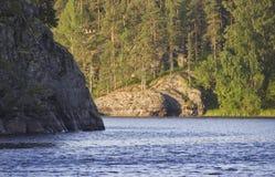 Lake Ladoga, Karelia, Russia Royalty Free Stock Image