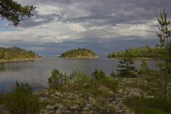 Lake Ladoga, Karelia, Russia Stock Images