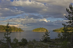 Lake Ladoga, Karelia, Russia Royalty Free Stock Photo