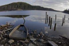 Lake Ladoga, Karelia, Russia Royalty Free Stock Photography