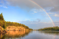 Lake Ladoga, Karelia, Russia Stock Image