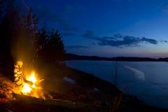 Lake Ladoga, Karelia, Russia Royalty Free Stock Images