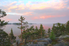 Lake Ladoga, Karelia, Russia Royalty Free Stock Photo