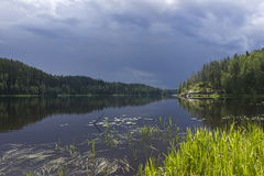 Lake Ladoga, Karelia, Russia Royalty Free Stock Photography