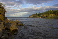 Lake Ladoga, Karelia, Russia Stock Photos