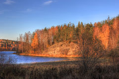 Lake Ladoga, Russia Royalty Free Stock Image