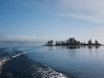 Lake Ladoga in Russia Stock Photo