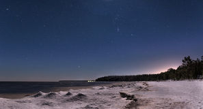 Lake Ladoga Stock Photography