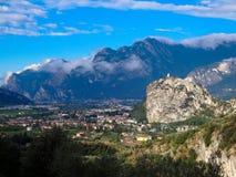 Lake Lago di Garda Stockbilder