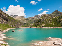 Lake Lago di Robiei Photographie stock