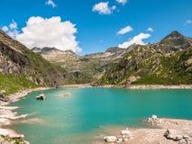 Lake Lago Di Robiei Stock Fotografie