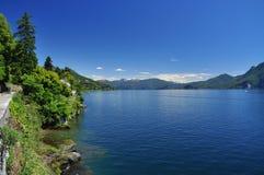 Lake (lago) Maggiore, Italy. Scenic landscape view Stock Image