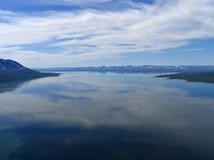 Lake Lama. Russia. Putorana plateau. Lake Lama Royalty Free Stock Photos