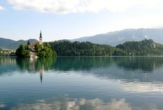 Lake landscape Royalty Free Stock Photos