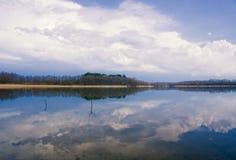 Lake landscape Royalty Free Stock Photography