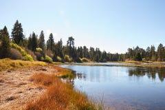 Lake and landscape, Bluff Lake, Big Bear, California, USA Stock Photo