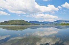 Lake landscape royalty free stock photo