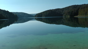 Lake. Landscape - lake in Croatia with sky Stock Photography
