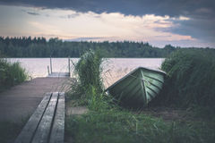 Lake landscape in Finland Royalty Free Stock Images