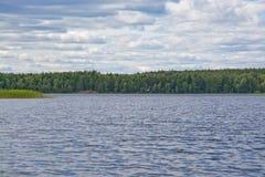 Lake landscape Stock Images