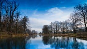 Lake, Landscape, Nature Stock Photo