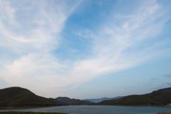 Lake landscape in summer Stock Images