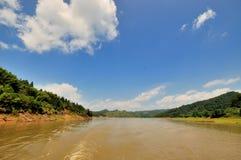 Lake landscape in Taining, China Stock Image