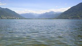 Lake Langensee in the city of Ascona, Switzerland. Lake Langensee in the city of Ascona, Switzerland stock footage