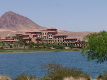 Lake Las Vegas Stock Photo