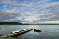 Lake Laugartvatn Stock Images