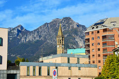 Lake Lecco, Italy Royalty Free Stock Images