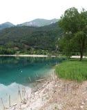 Lake Ledro royalty free stock photos