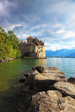 Lake Leman in fine weather Stock Images